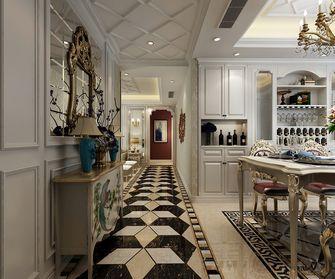130平米三室两厅欧式风格玄关装修案例