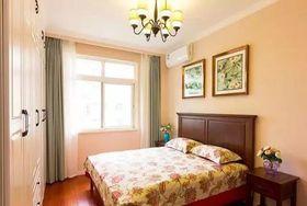 80平米美式風格臥室圖片大全