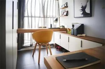 90平米一居室北欧风格卧室图片