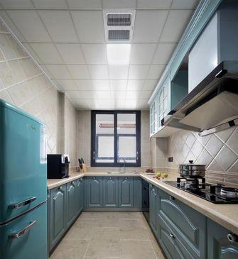 130平米别墅美式风格厨房效果图