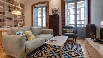 60平米公寓宜家风格客厅设计图
