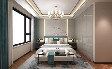 120平米三室三厅中式风格卧室设计图