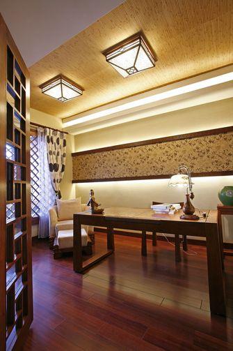 110平米三室一厅东南亚风格书房装修效果图