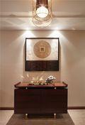10-15万130平米三室两厅新古典风格玄关图片