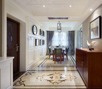 豪华型130平米三室两厅新古典风格玄关效果图