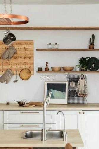 130平米三北欧风格厨房图