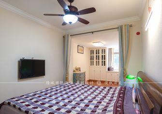 110平米三室一厅现代简约风格卧室图片