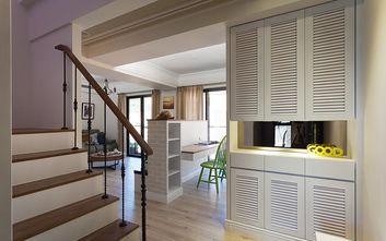 经济型120平米复式现代简约风格楼梯装修图片大全