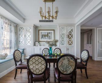 140平米三美式风格餐厅家具装修图片大全