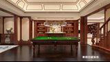 140平米四室三厅中式风格健身室图片大全