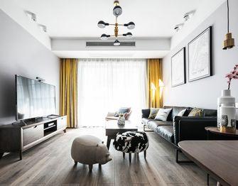 90平米欧式风格客厅图