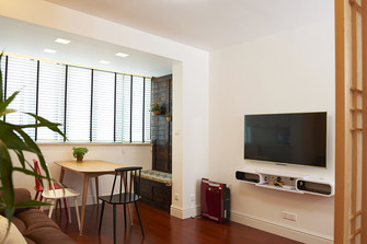 15-20万70平米公寓日式风格餐厅装修效果图