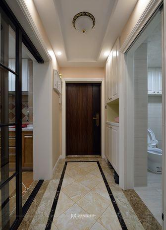 90平米三室两厅美式风格走廊效果图