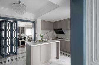140平米三室一厅美式风格厨房图片大全