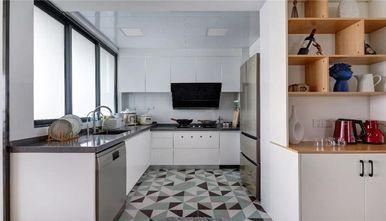 120平米三室一厅北欧风格厨房图片大全