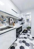 90平米四宜家风格厨房设计图