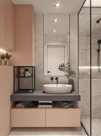 70平米一居室北欧风格卫生间装修案例