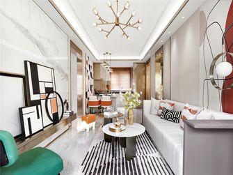 110平米三室三厅法式风格客厅欣赏图