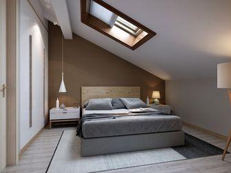 100平米三室两厅北欧风格阁楼设计图