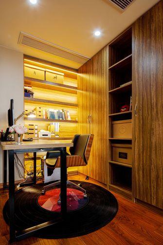 富裕型140平米四室两厅英伦风格书房图片大全