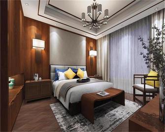 经济型140平米三室四厅中式风格卧室装修图片大全