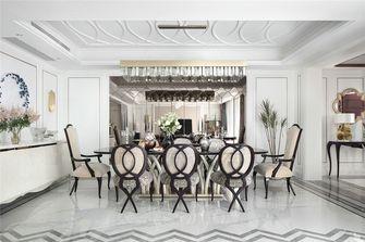 140平米别墅英伦风格餐厅图片大全