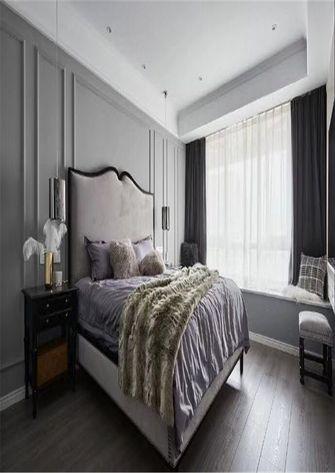 80平米一室一厅欧式风格卧室图片大全