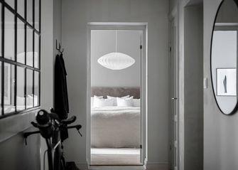 50平米一居室北欧风格走廊设计图