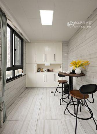 140平米三室两厅中式风格阳台图片