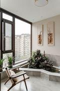 140平米复式中式风格阳台装修案例