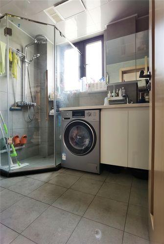80平米一居室日式风格卫生间效果图