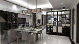 富裕型120平米三中式风格餐厅设计图