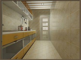 90平米现代简约风格厨房橱柜装修效果图