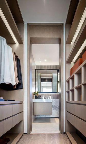 120平米三室一厅现代简约风格衣帽间装修图片大全