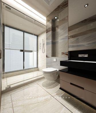 80平米三室两厅现代简约风格卫生间浴室柜效果图