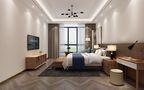 120平米三室五厅现代简约风格卧室装修效果图