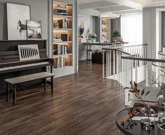 140平米三室两厅北欧风格影音室图片大全