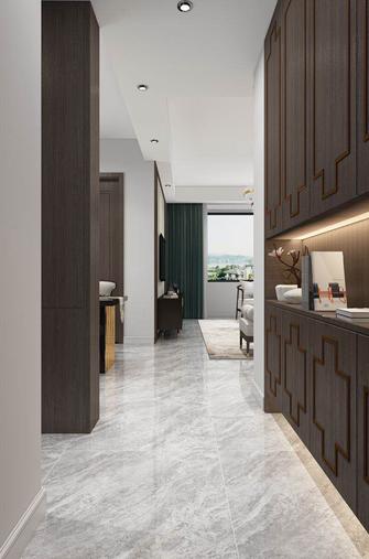 110平米三室一厅新古典风格玄关设计图