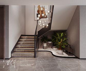 140平米复式现代简约风格楼梯间欣赏图