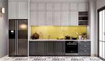 120平米三室三厅美式风格厨房装修案例