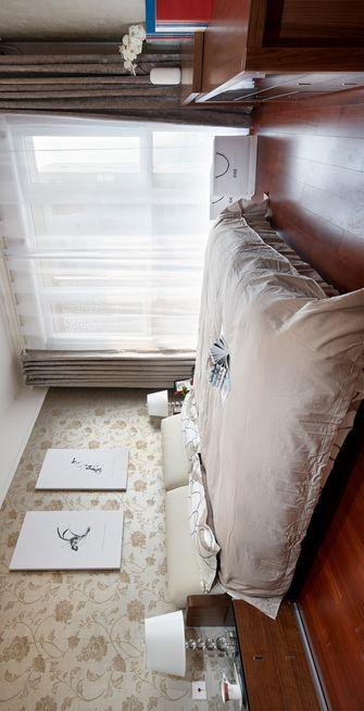 140平米三室两厅混搭风格卧室设计图