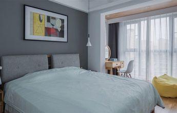 90平米三室两厅北欧风格卧室装修图片大全