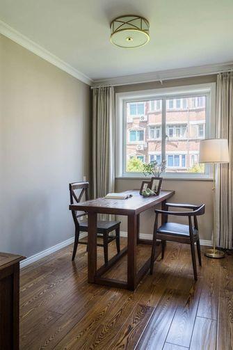 110平米三室五厅美式风格餐厅图