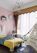 90平米三美式风格儿童房欣赏图