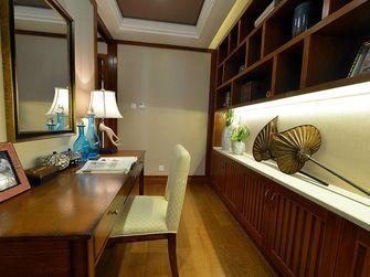 110平米东南亚风格书房效果图