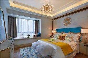 经济型90平米三室两厅地中海风格卧室装修效果图