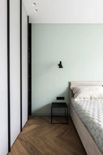 60平米一居室混搭风格卧室设计图