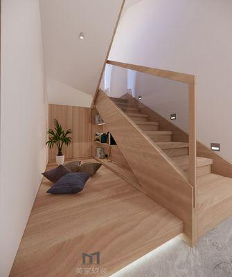 140平米复式北欧风格楼梯间装修图片大全