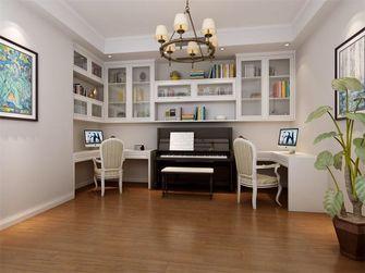 140平米三室一厅欧式风格书房装修图片大全