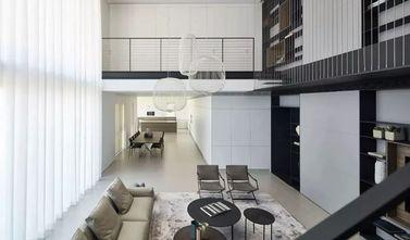 110平米一室两厅现代简约风格阳光房图